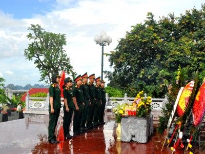 Công ty cổ phần Vận tải và Chế biến than Đông Bắc tổ chức nhiều hoạt động nhân kỷ niệm 72 năm ngày thương binh, liệt sĩ (27/7/1947-27/7/2019).